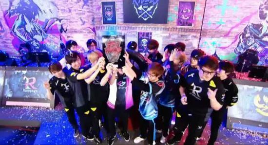 日本LJL赛区在《英雄联盟》洲际赛上获得冠军