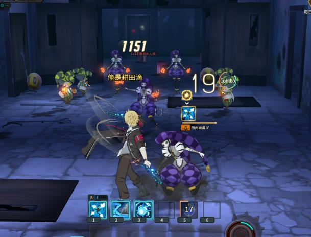 ★玩家一開始進入第一層時,即會面臨從兩邊病房衝出各式的小丑與人偶
