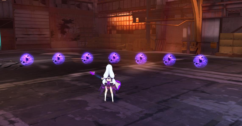 ★技能「靈魂彈」,在「攻擊姿態」下會施放前方扇形大範圍推進的「靈魂彈」,接觸到敵人將會爆炸