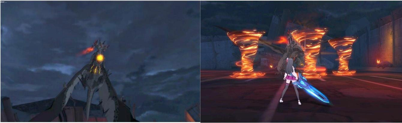 ★副本「狼嚎」的BOSS「獵鷹女王卡拉」擁有一對巨大而充滿威脅性的翅膀。