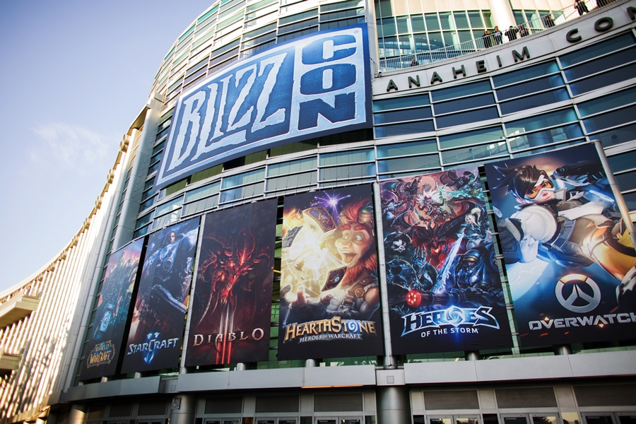 2016 BlizzCon at Anaheim Convention Center