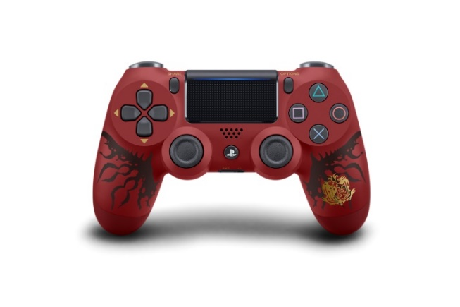 Description: Y:\[JP]Hardware_Peripheral\02_OfficialPhoto\PS4 Hard\201712XX_PS4_World\MHW\Low\DUALSHOCK4_MONSTERHUNTERWORLD_01.jpg