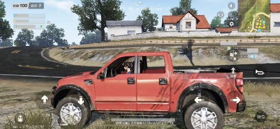 一張含有 草, 室外, 貨車, 汽車 的圖片 描述是以非常高的可信度產生