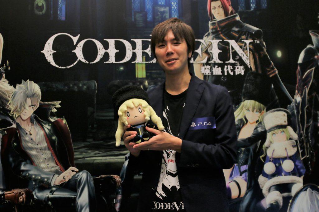 動漫節專訪速報:《Code Vein 噬血代碼》製作人飯塚啟太