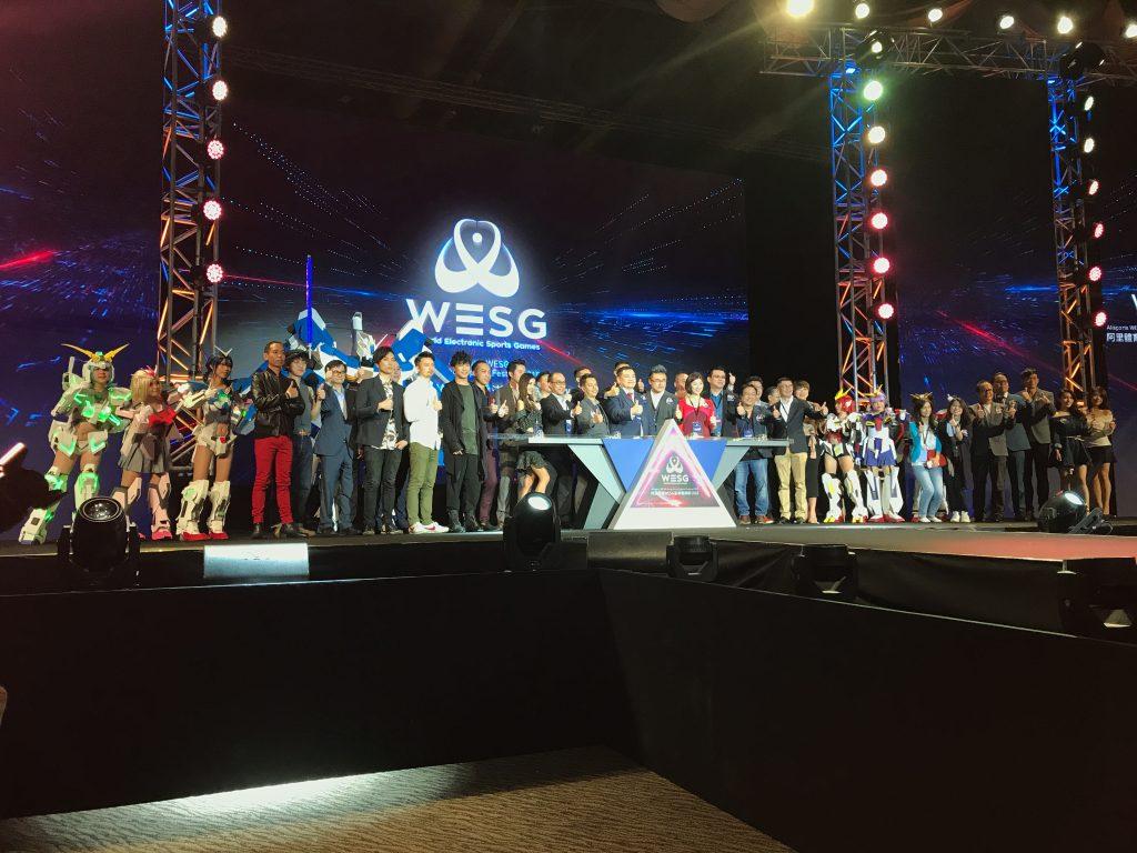 【坦編外訪】阿里WESG電競節現場 體感VR、真皮跑車專座有得玩